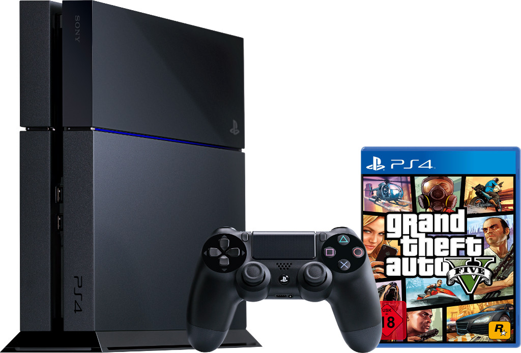 sony playstation 4 ps4 500gb grand theft auto 5 gta5. Black Bedroom Furniture Sets. Home Design Ideas