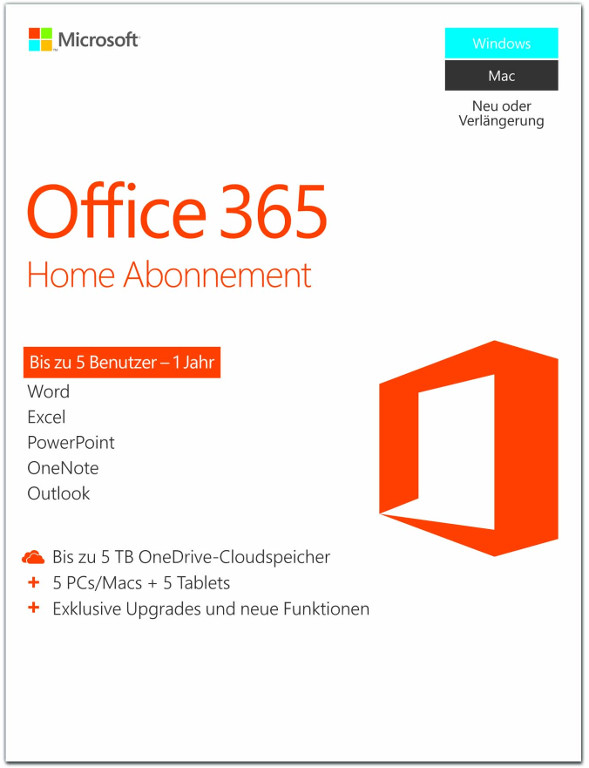 microsoft office 365 home 1 jahr pkc deutsch 6gq. Black Bedroom Furniture Sets. Home Design Ideas
